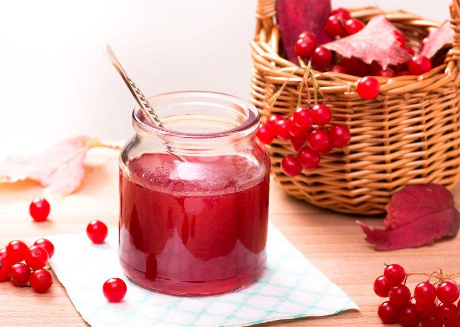 Сироп из ягод калины