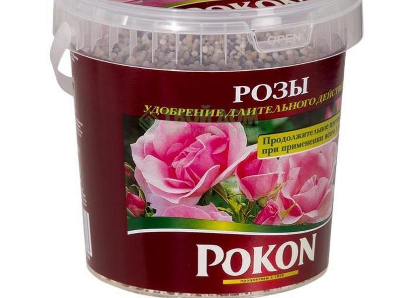 Минеральное удобрение для комнатной розы.
