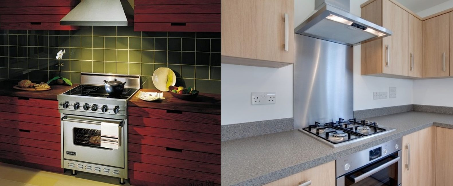 Устройства нужны для кухонь с любыми плитами: газовыми, электрическими