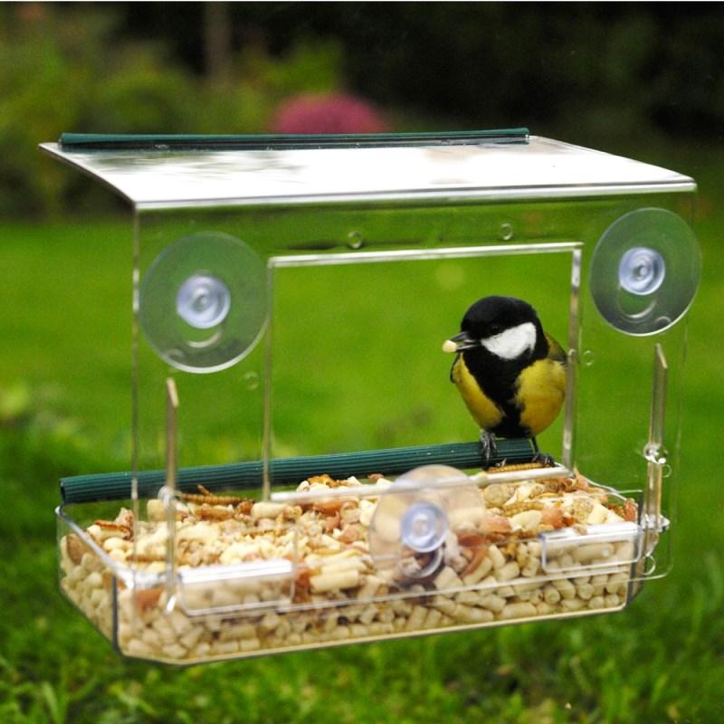 кормушки для птиц на присосках