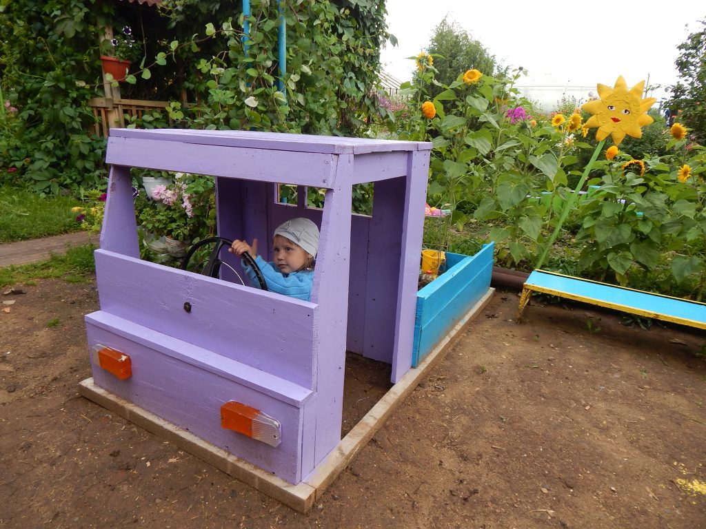 Как сделать детскую площадку - детская площадка