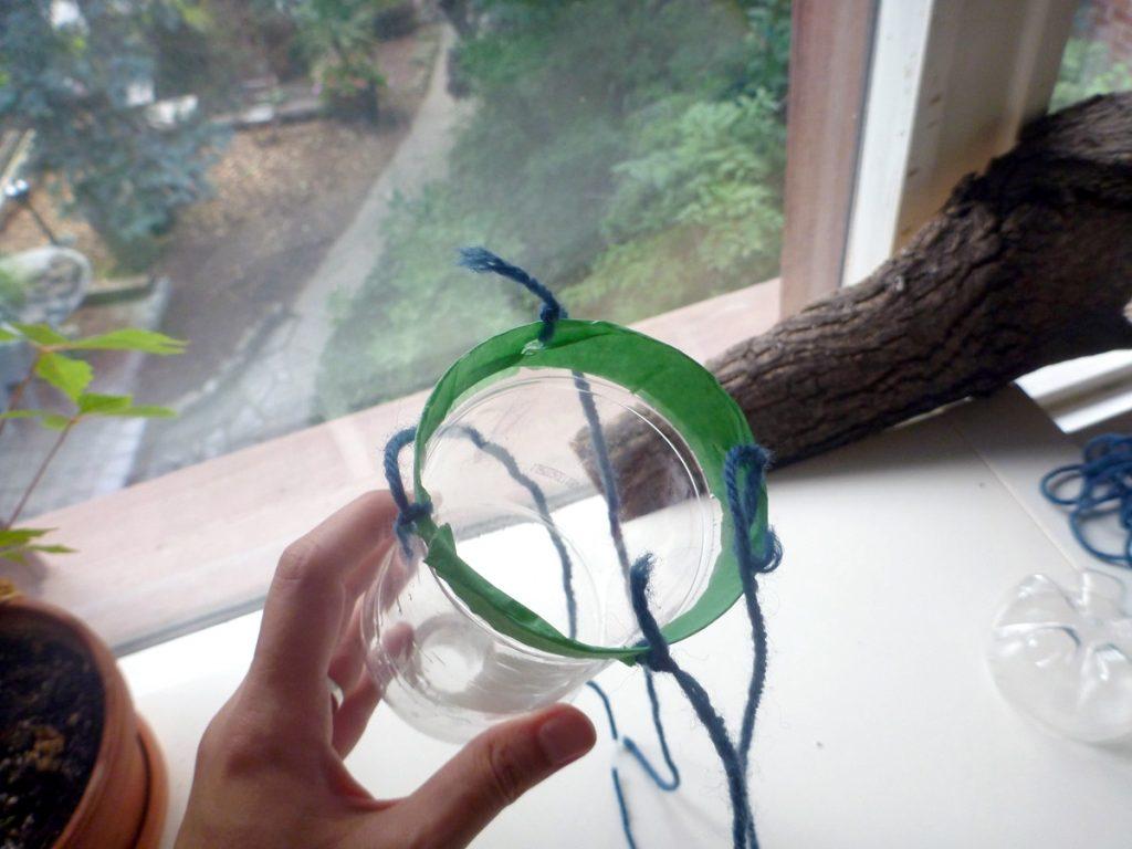 Поделки из верёвки из пластиковой бутылки 93