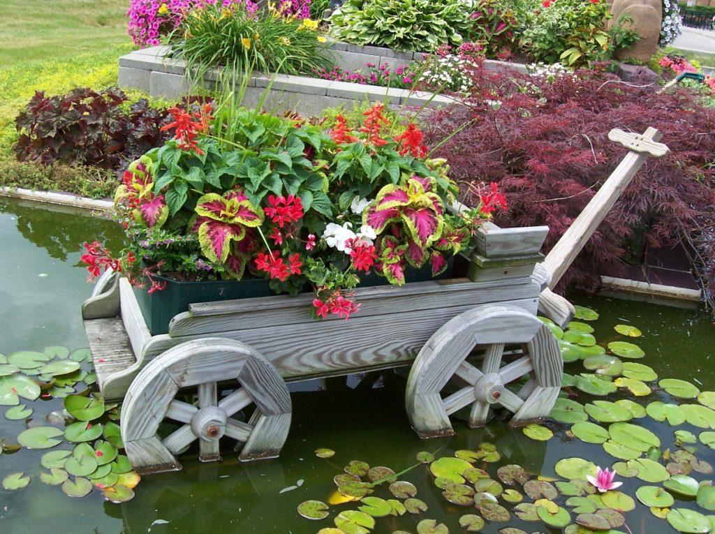 украсить садовый участок картинки первого образа выбрали