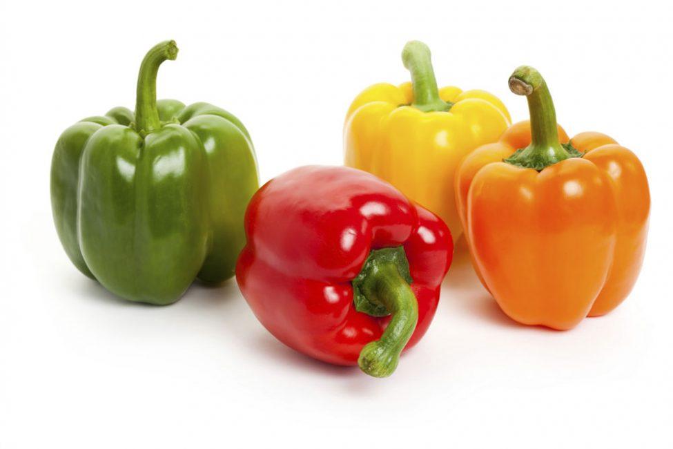 четыре болгарских перца