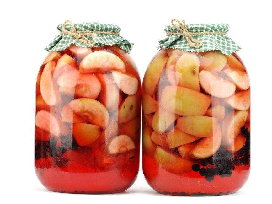 Виноградно-яблочный напиток