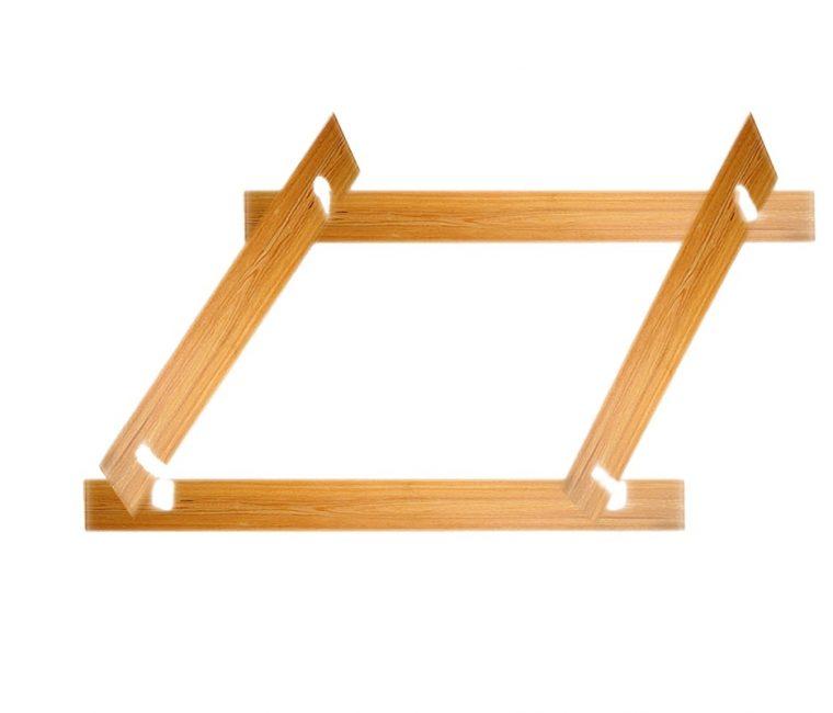 Принцип сборки деревянной песочницы