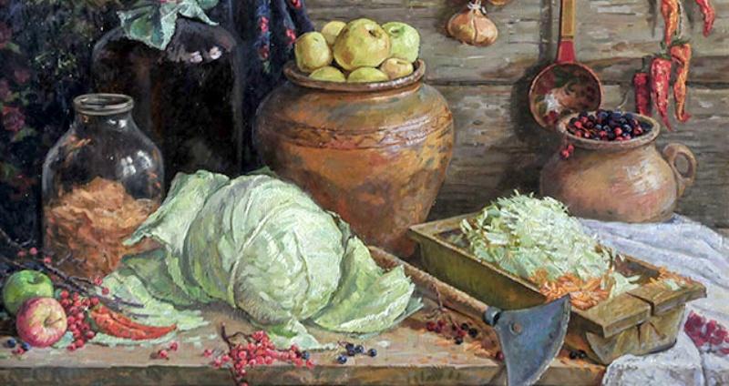 Мочёные яблоки – старинное русское блюдо