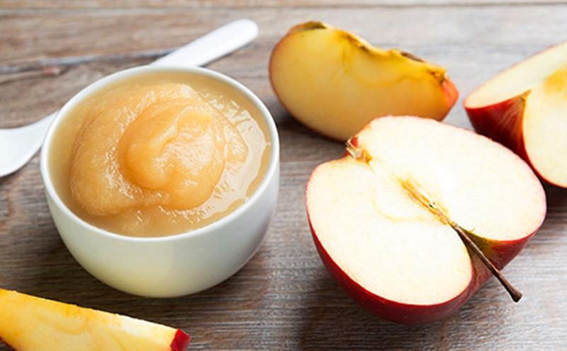 Пюре из яблок для детского питания