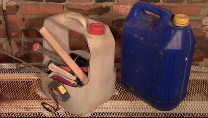 боксы для инструмента из пластиковых канистр
