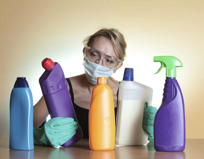 техника безопасности при использовании ядов и химикатов в доме