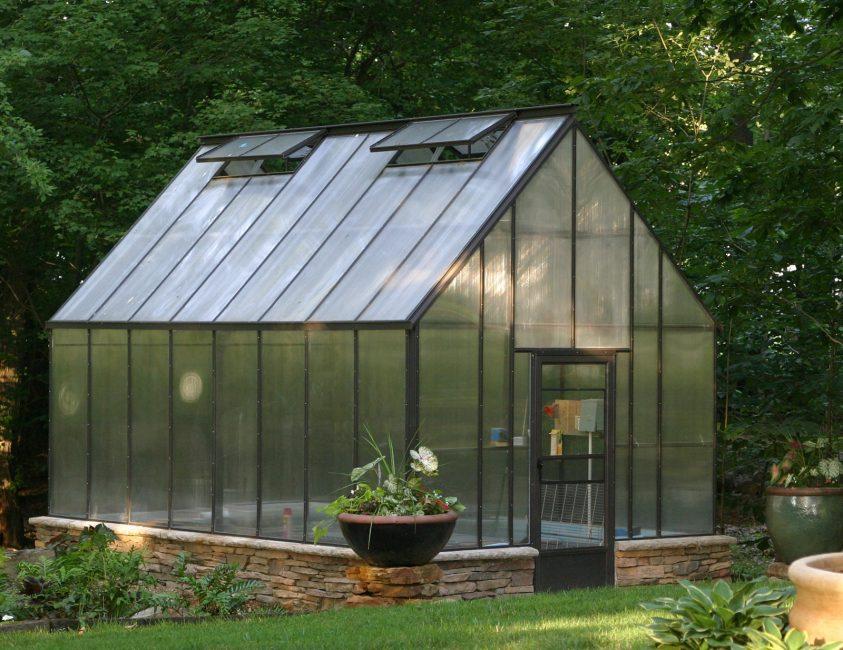 Двухскатная крыша - классический вариант