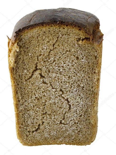 Чёрствая буханка хлеба