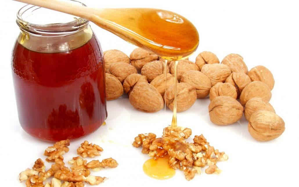 Мед с орехами от простатита