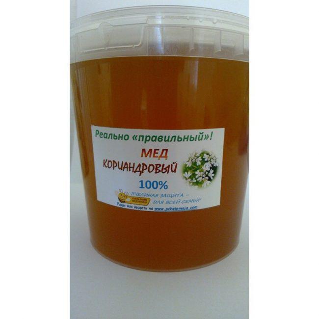 Кориандровый мед