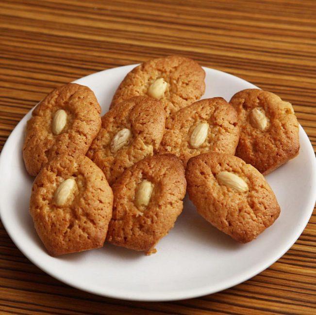 Миндально-лимонное печенье