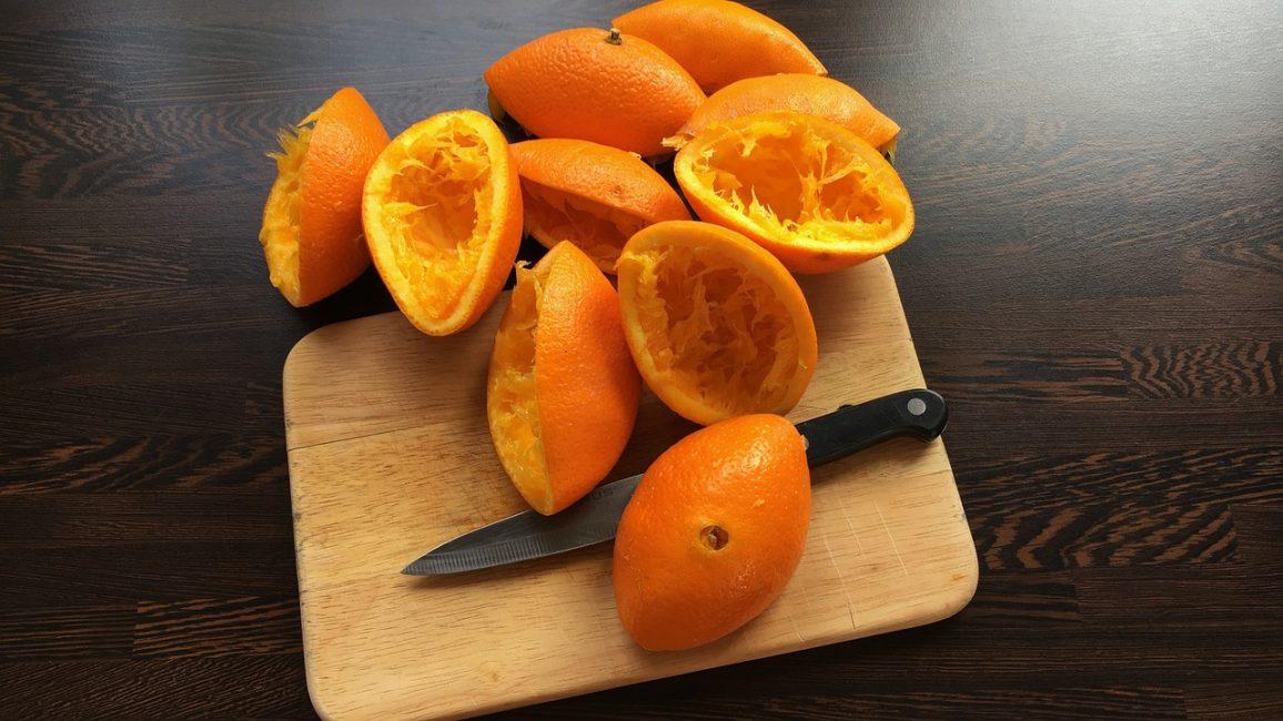 кожура апельсинов
