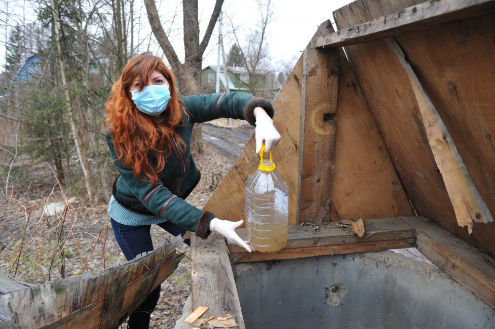 Проба воды из колодца