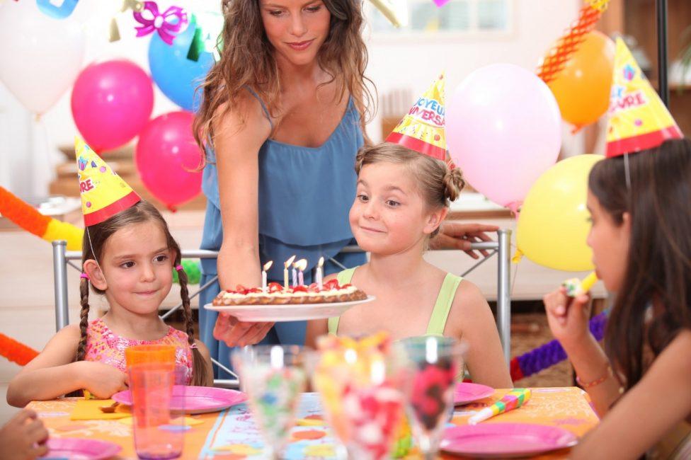 День рождения девочки 5 лет