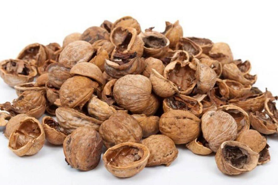 Ореховая скорлупа, чаще всего, просто выкидывается.