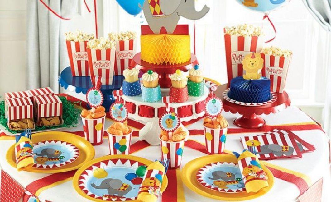 детская посуда на день рождения