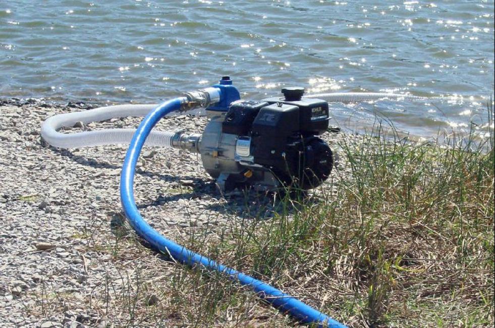 Использование естественного водоем