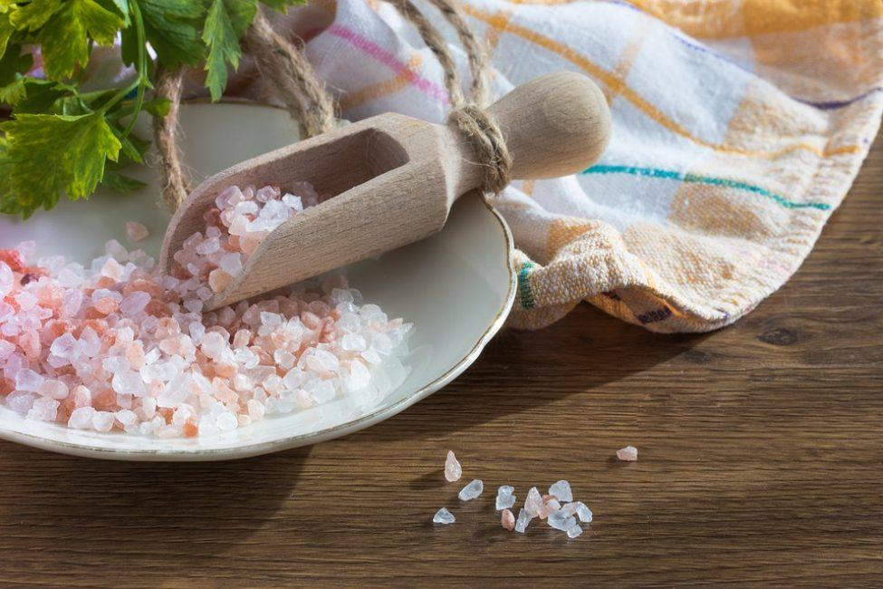 Для засолки используйте крупную морскую соль