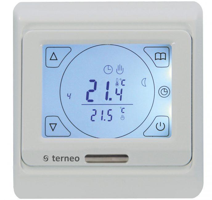 Термостат позволяет задавать точную температуру в помещении