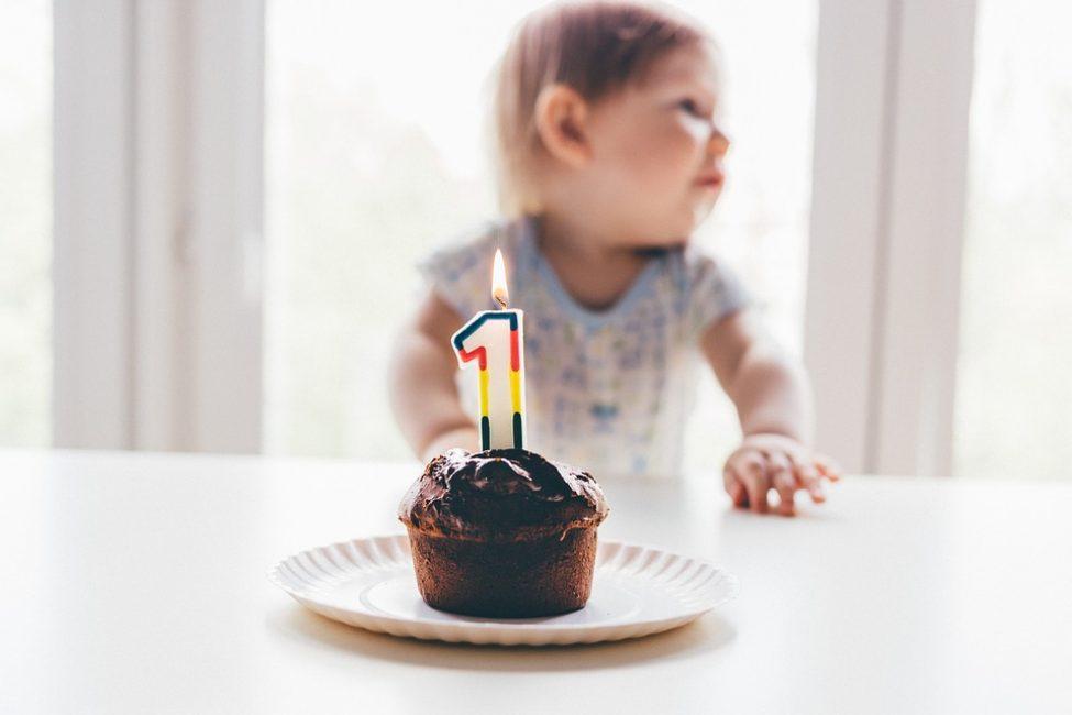 На первый день рождения малыша приготовьте пудинг