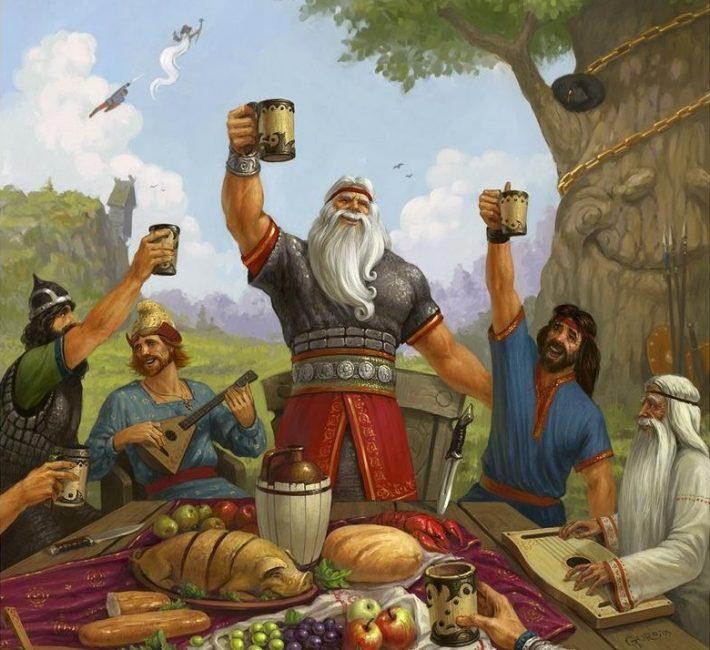 Для русских квас – это непросто напиток. Он символизирует саму жизнь