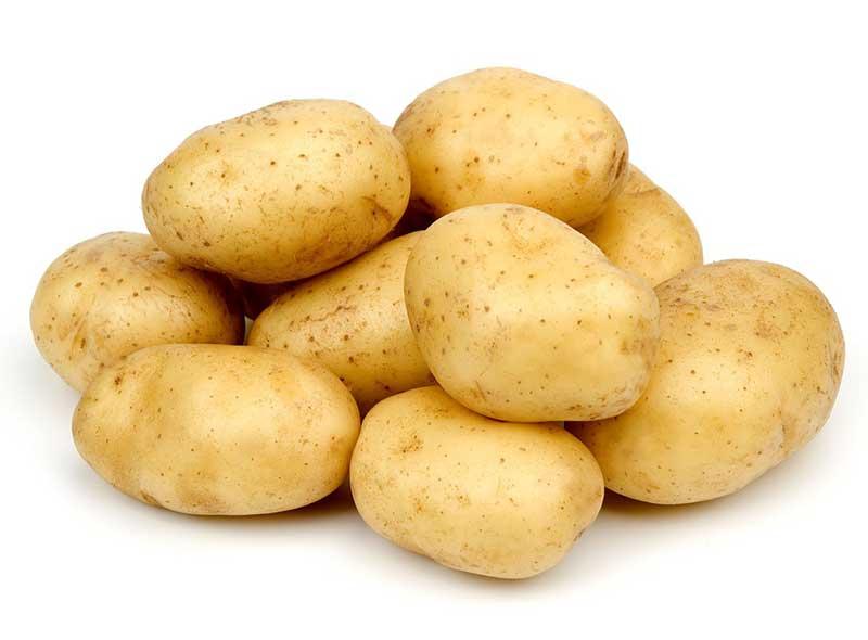 Клубни картофеля Аусонии.