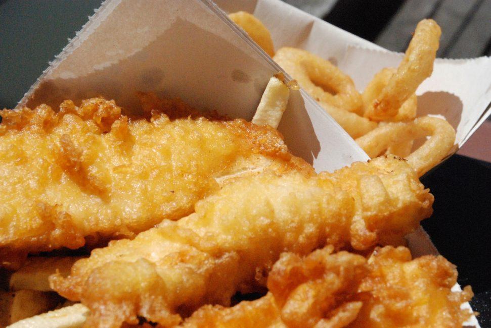 Рыбные чипсы