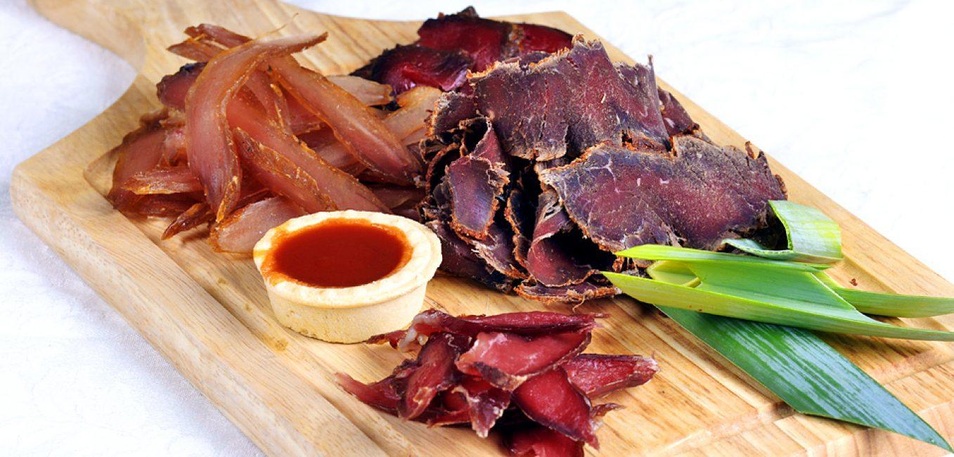 Вяленое мясо к пиву