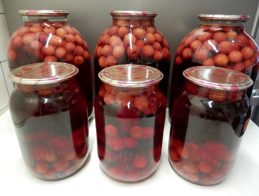 вишневый компот