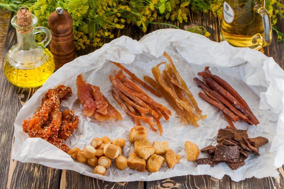 Закуски из рыбы к пиву