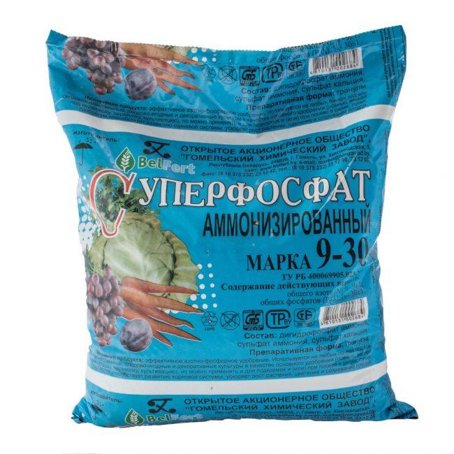 Аммонизированный суперфосфат