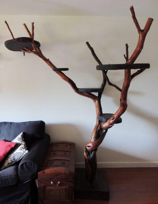 Дерево для кошки в квартире