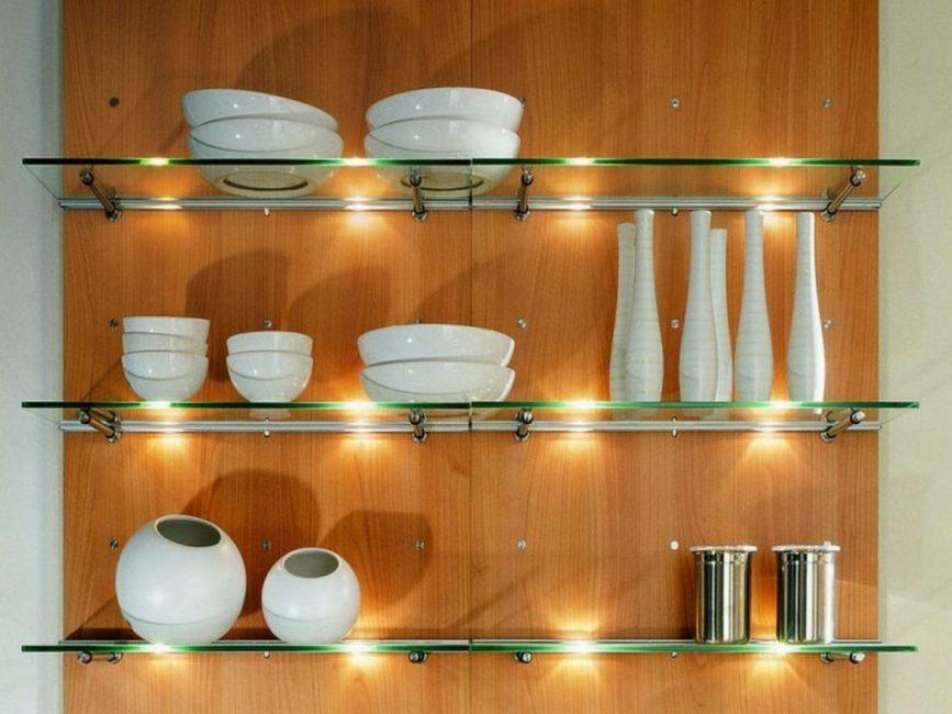 Дизайнерский прием на кухне
