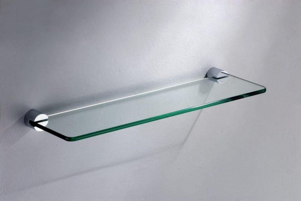 Жесткая фиксация стеклянной заготовки в креплениях