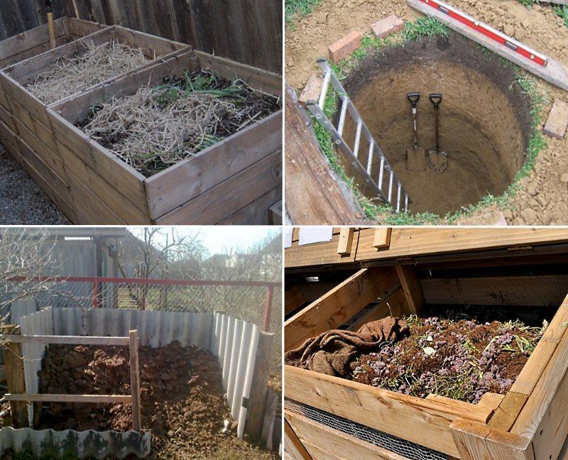 Содержимое компостной ямы перепревает медленней