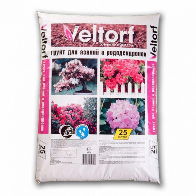 В продаже есть широкий выбор почвенных смесей для рододендронов