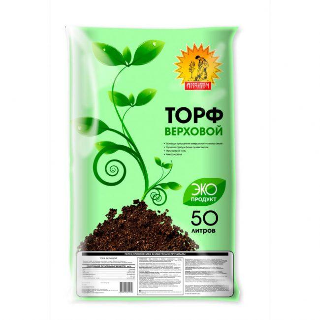 Верховой торф – основа почвенной смеси для всех видов азалий