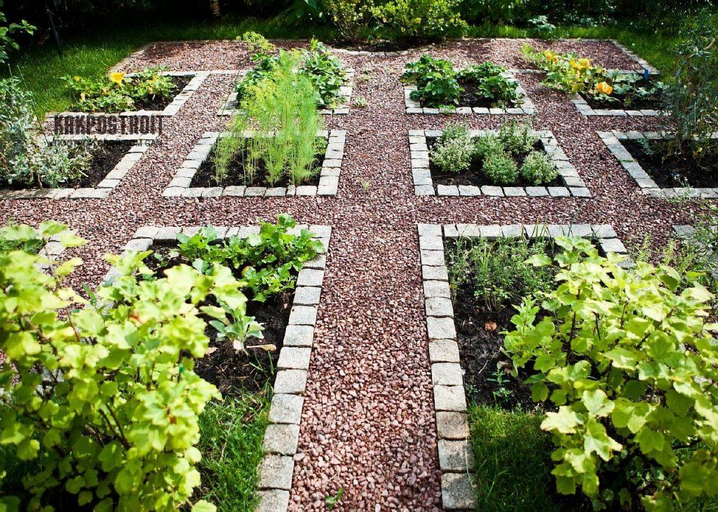 как оформить огород своими руками фото кладбищенские
