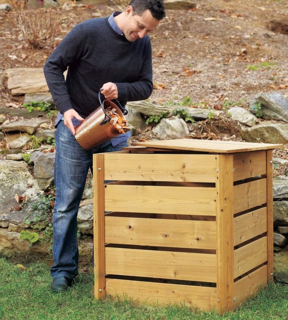 Ящик для компоста из поддонов своими руками фото 893