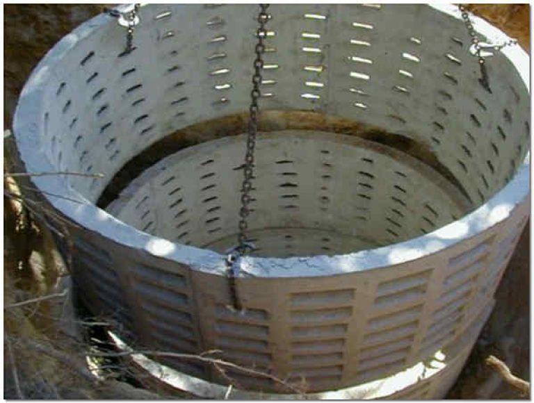 Кольца для фильтрующего колодца