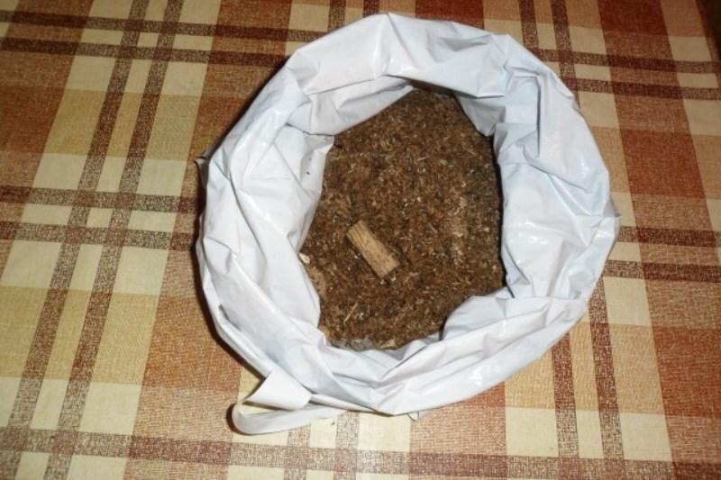 Полиэтиленовый мешок с влажными опилками для стратификации