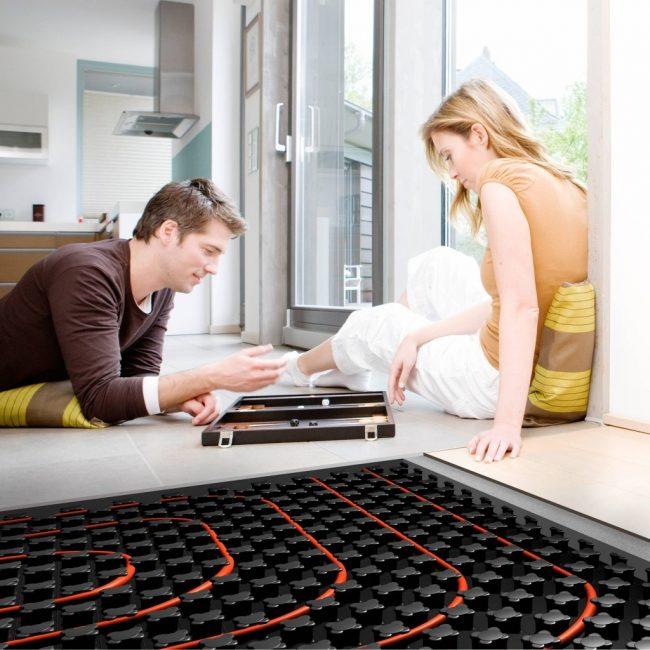 Напольное отопление – комфорт в доме