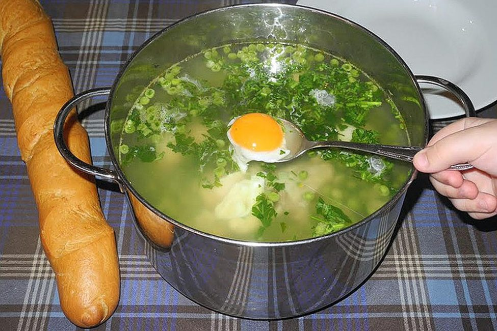 Одуванчиковый суп
