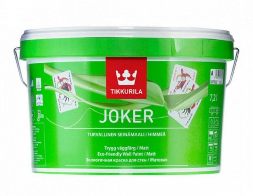 Краска «Джокер» от Тиккурила