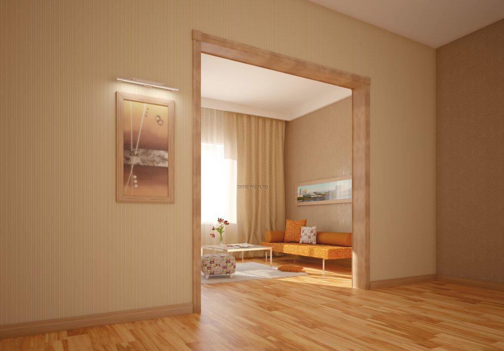 Как отделать дверной проем без двери фото