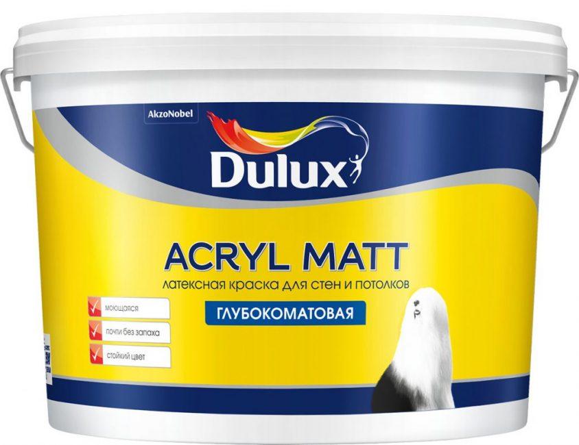 Британская краска «Dulux»